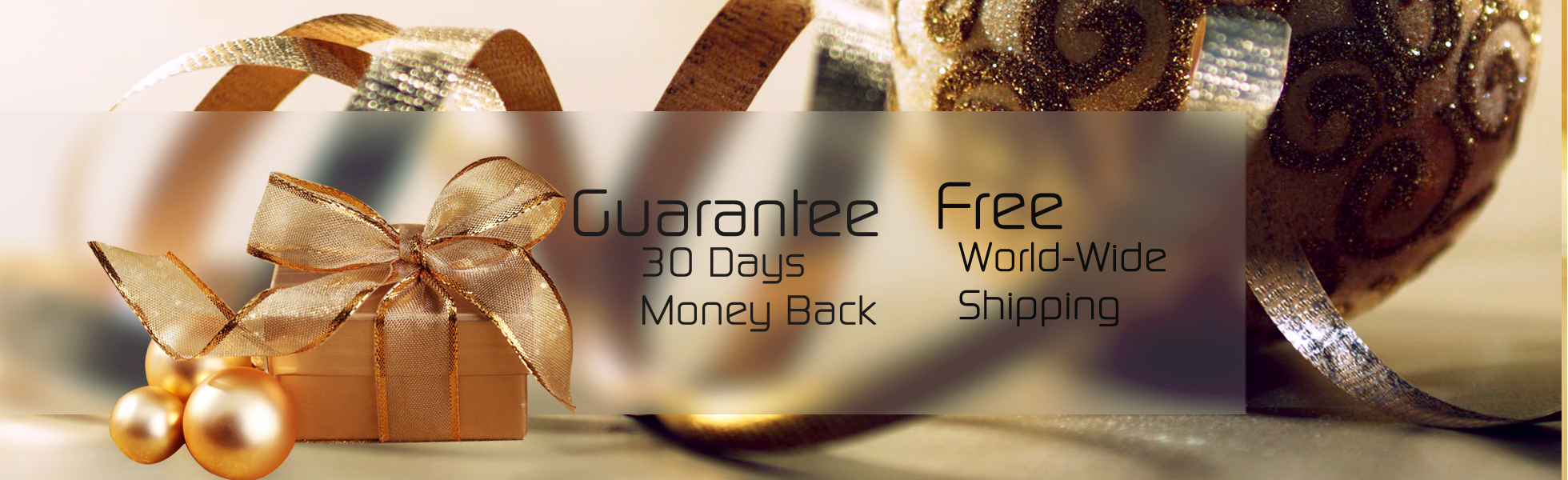 30 Day Money Back & Free Shipping