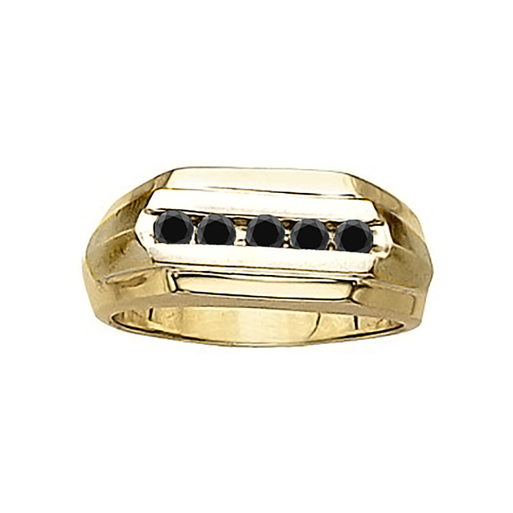 0 5 carat black channel design promise